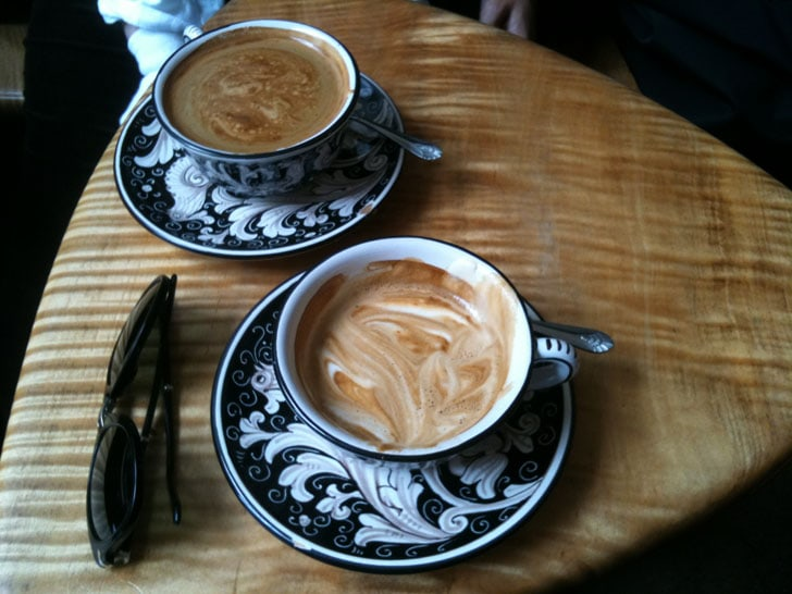 קפה בניו-יורק. צילום: נורית קוניאק