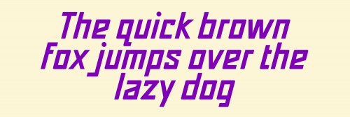 The quick brown fox jumps over the lazy dog gold (פונט רבקה באו)