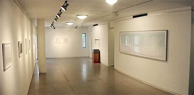 חלל גלרית החדר. צילום: מתוך אתר הגלריה