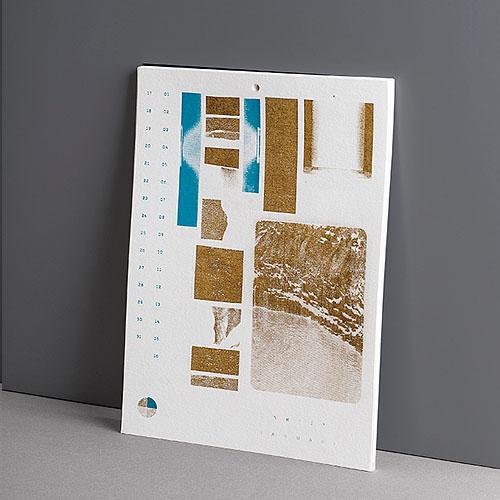 איריס קוצ׳מר עם־שלם - עיצוב והדפסת לוח־עד