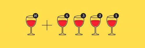 4 כוסות + אחד לאליהו הנביא. עיצוב ליאור ליפשיץ