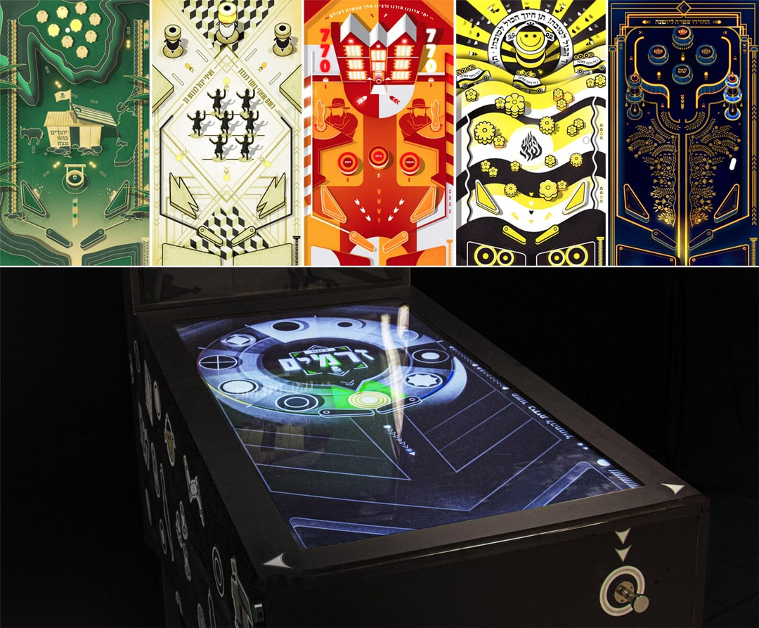 זרמים <span>— משחקי פינבול של זרמים ביהדות</span>